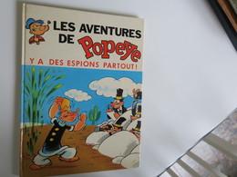 BD -  POPEYE - Y A Des Espions Partout - Editions MCL Originale 1973 - Bücher, Zeitschriften, Comics