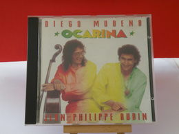 Ocarina - Diego Modena / Jean Philippe Audin - (Titres Sur Photos) - CD - World Music