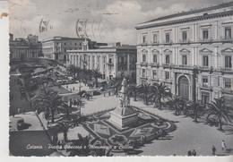 CATANIA PIAZZA STESICORO E MONUMENTO A BELLINI 1953 - Catania