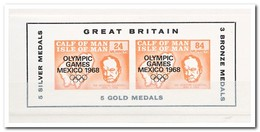 Calf Of Man 1968, Postfris MNH, Olympic Games Mexico 1968 - Man (Eiland)