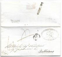DA CINGOLI A FABRIANO - 24.8.1859. - Italy