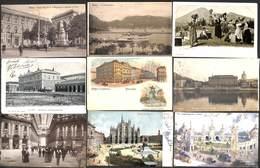 Italia - Lot 67 Cartes (animation, Hotel, Como, Litho Padova Roma...(to See, Little Price) - Italie