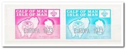 Calf Of Man 1973, Postfris MNH, Europa 1973, Churchill - Man (Eiland)