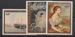Gabon - 1974 - Poste Aérienne PA N°Yv. 146 à 148 - Paintings - Neuf Luxe ** / MNH / Postfrisch - Gabon (1960-...)