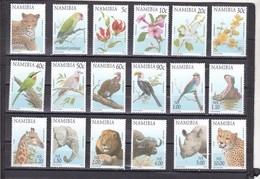 Namibia Nº 818 Al 835 - Namibia (1990- ...)