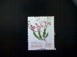 Norway (Norge), Scott #628, Used (o), 1973, Flowers, Phyllodoce Corrulea, 1k, Multicolored - Norway