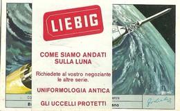 """4170 """" LIEBIG - COME SIAMO ANDATI SULLA LUNA """" 6 FIGURINE ORIGINALI - Liebig"""