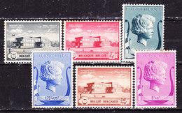 Belgio 1940 Fondazione Musicale Serie Completa MLLH - Belgium