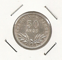 TIMOR 50 AVOS 1951 TRES DIFFICILLE - Timor