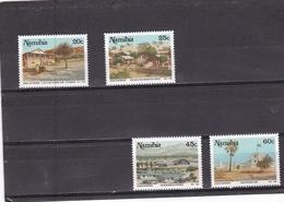Namibia Nº 667 Al 670 - Namibia (1990- ...)