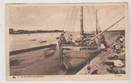 Morbihan SAINT PIERRE DE QUIBERON Le Port  (bateau De L'Ile De Groix) - France