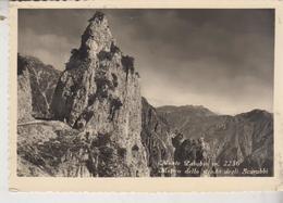 MONTE PASUBIO - STRADA DEGLI SCARUBBI 1952 - Vicenza
