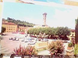 2 CARD  FIESOLE  PIAZZA E VIA S FRANCESCO  VB1963/69 HC9922 - Firenze