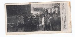 MUSEE DE VERSAILLES LEBEL Le Premier Consul Visite L'hôpital Du Mt St Bernard (format 65x135) - Peintures & Tableaux