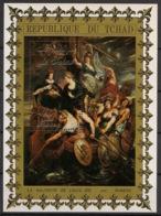 Tchad - 1972 - Bloc Feuillet BF N°Yv. 10C - Rois De France / Rubens - Neuf Luxe ** / MNH / Postfrisch - Chad (1960-...)
