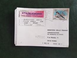 (40828) STORIA POSTALE  ITALIA 1996 - 1946-.. République