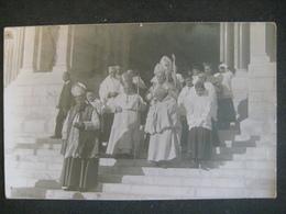 DA STUDIARE A ETUDIER PRETI SACERDOTI VESCOVI ? CPA FOTO INVIATA A BOGLIASCO LIGURIA ITALY FOTO E. NAVELLO - Cristianesimo