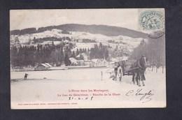 Vente Immediate L' Hiver Dans Les Montagnes - Lac De Gerardmer - Recolte De La Glace ( Homeyer & Ehret ) - Gerardmer