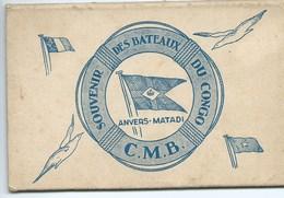 « Souvenir Des Bateaux Du CONGO - C.M.B.- ANVERS-MATADI » Carnet De  7 Cartes Uniquement - Congo Belge - Autres