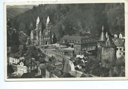 Clervaux Panorama Avec L'Eglise Et Le Chateau - Clervaux