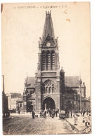 CPA Saint Denis, L'Eglise Neuve, Ungel. - Saint Denis