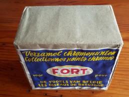 Paquet  Neuf De 10 BOITES D'ALLUMETTES BELGES Et ETIQUETTE PUBLICITAIRE Pour FORT LES OISEAUX DE BELGIQUE - Matchboxes