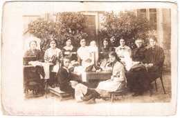 CPA B-du-R.MIRAMAS.CARTE PHOTO.SOUVENIR DU 14 NOVEMBRE 1915 - France