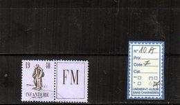 FM. N°10 A Oblitéré - Franchise Militaire (timbres)