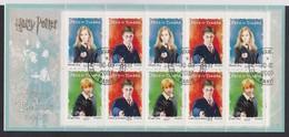 FRANCE 2007: 'Harry Potter',  Bloc-feuillet Oblitéré - Blokken En Velletjes