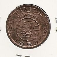 TIMOR 30 CENTAVOS 1958 DIFICILLE - Timor