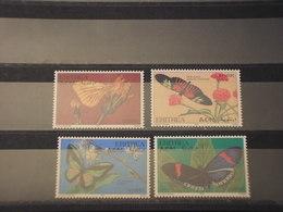 ERITREA - 1997 FARFALLE 4  VALORI - NUOVI(++) - Eritrea