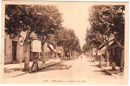 CPA B-du-R.MIRAMAS.AVENUE DE SALON 1652 - France