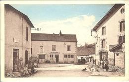 70 DELAIN LE CAFE RESTAURANT DE LA PLACE LE TABAC BELLE ANIMATION POSTE A DAMPIERRE SUR SALON - France