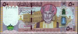 OMAN - 50 Rials 2010 {Sultan Qaboos Bin Sa'id} {40th National Day 1970-2010} UNC P.47 - Oman