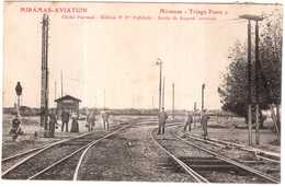 CPA B-du-R.MIRAMAS AVIATION.TRIAGE POSTE 2 - Francia