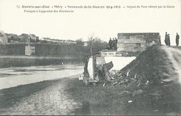 95 CPA AUVERS OISE Aspect Du Pont Détruit Par Le Génie Français - Auvers Sur Oise