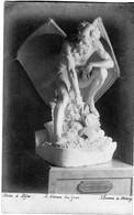 CPA 21  DIJON Musée  HOMME De MERCEY  Démon - Sculptures