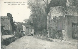 95 CPA AUVERS SUR OISE Rue Daubigny Les Vallées - Auvers Sur Oise