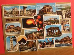 Sicilia Vedute  Cartolina 1985 - Autres Villes