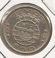 TIMOR 60 CENTAVOS 1958 - Timor