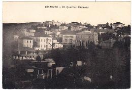 CPA Beyrouth, 20. Quartier Medawar, Gel. - Libano