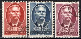 UNGHERIA - 1951 - 15° ANNIVERSARIO DELLA MORTE DI MAXIM GORKI - USATI - Ungheria