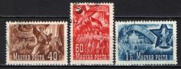 UNGHERIA - 1951 - CELEBRAZIONE DEL 1° MAGGIO - USATI - Ungheria