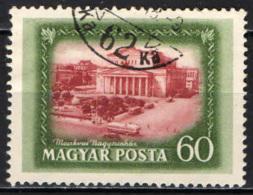 UNGHERIA - 1952 - IL GRANDE TEATRO DI MOSCA - USATO - Ungheria