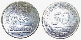 01925 GETTONE TOKEN JETON VENDING MACHINE STADLER TREU 50 CENT - Germany