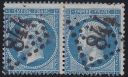 N°22 Paire Position 99D3 100D3, Pas Facile De La Positionner, TB - 1862 Napoléon III