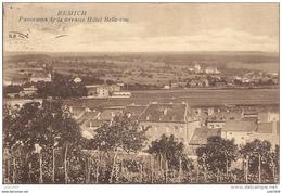 REMICH ..--  Panorama .  1932 Vers IXELLES ( Mr Albert ASTGEN ) .  Voir Verso . - Remich