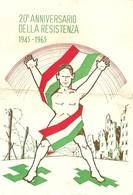 """4172 """"20° ANNIVERSARIO DELLA RESISTENZA-1945-1965"""" - 6. 1946-.. Republic"""
