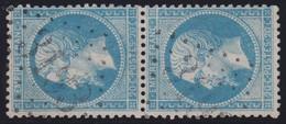 N°22 Paire Position 117D3 127D3, Pas Facile De La Positionner, TB - 1862 Napoléon III