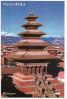 Nyatapola Five Storeys Roofed Temple Hinduism Pagoda In Nepal. Uncirculated Mint Postcard - Religión & Creencias